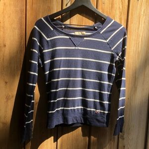Hollister| Striped Long Sleeve Tee